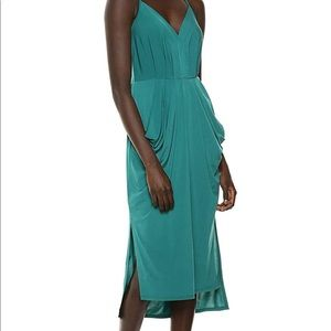 NWT BCBGeneration Faux Wrap Midi Dress